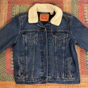 Levi's Semi-Lined Sherpa Denim Jacket
